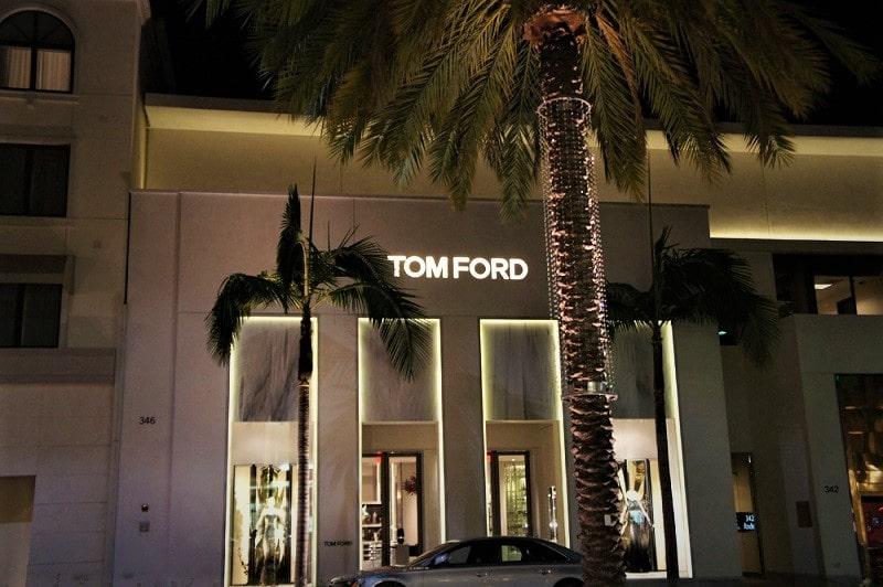 Бутик Tom Ford в Калифорнии (Беверли-Хиллс)