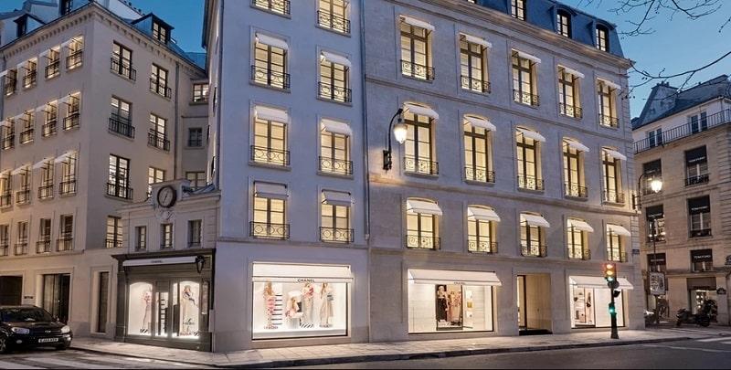 Новый Дом Шанель в Париже