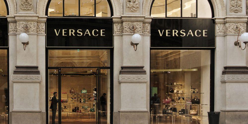 Магазин Versace в Италии