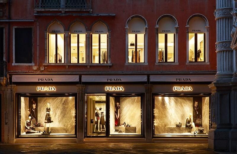 Бутик Prada в Венеции
