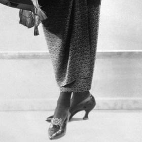 Хромая юбка Поля Пуаре: фото, примеры и история